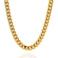 steel necklace chains images 8mm stainless steel 14k gold miami cuban curb chain hip hop jpg