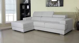 Contemporary White Leather Sectional Sofa by Sofa Small Sectional Sofa Modern White Leather Sectional Black