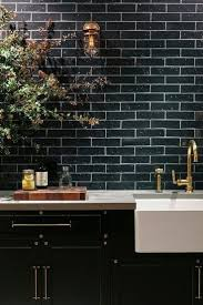 reasons to use black subway tile in bathroom traditional wooden