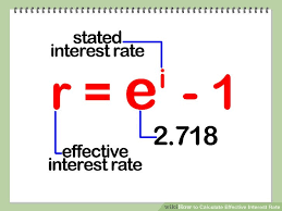 How To Calculate The Needed How To Calculate Effective Interest Rate 7 Steps With Pictures