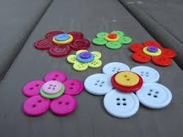 button flowers button flower craft tutorial