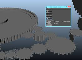 gear model and animation script for maya free animation scripts