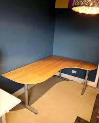 Ikea Galant Corner Desk Right Ikea Galant Beech Corner Desk Right W 2 Extensions In Holloway