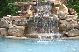 custom pool waterfalls water features ponds u0026 backyard