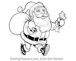 cartoon santa claus