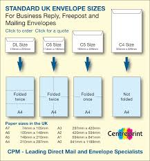 Envelopes Size Envelope Sizes Standard Uk Envelope Sizes For C6 Dl C5 And C4