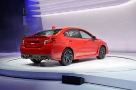 subaru wrx turbo 2015 all new 2015 subaru wrx debuts in l a with 268hp 2 0 liter turbo