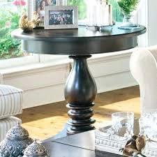 Paula Deen Coffee Table Paula Deen Table Home Wood Pedestal Side Table Linen