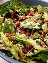 cranberry almond lettuce salad recipe genius kitchen