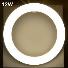 led circle light bulb circular tube led circle ring l 8 inch circular t9 led light