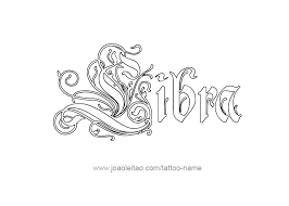 libra horoscope name tattoo designs page 3 of 5 tattoos with names