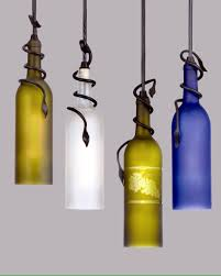 Pendant Lights On Sale by These Lights Made From Wine Bottles Would Look Lovely In My