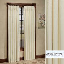 bedroom how to make pinch pleated drapes elegant with beige light