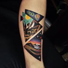 the 25 best triangle tattoo meanings ideas on pinterest