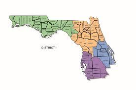 Alachua Florida Map by Insurance Fraud Regions