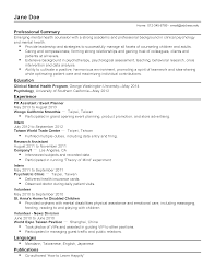 Sample Resume Objectives Event Coordinator by Resume For Event Planning Internship