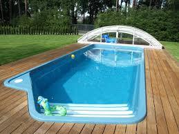 Backyard Inground Swimming Pools Swimming Pool Design Fiberglass Inground Swimming Pool Ideas