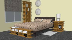 smart furniture bedroom 3d warehouse