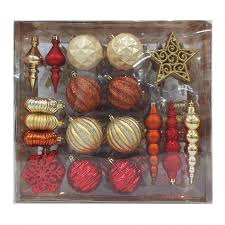 shop living 70 pack ornament set at lowes