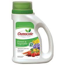 Fertilizer For Flowering Shrubs - osmocote smart release 4 5 lb flower and vegetable plant food