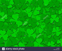 happy st patrick u0027s day green shamrock leaves background color
