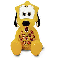 arribas figurine pluto jeweled mini