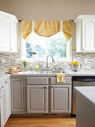 Kitchen Cabinets Colors Small Sink Awesome Modern Backsplash Decor With Grey Kitchen