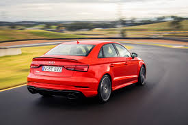 audi price 2017 audi rs3 sedan pricing and specs update photos 1 of 4