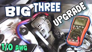 how to install big three upgrade exo u0027s big 3 car audio wiring