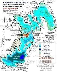 ca map map eagle lake california