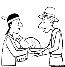 thanksgiving coloring pages 1