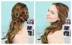 How To Formal Hairstyles by Beautiful Side Swept Updo Youtube