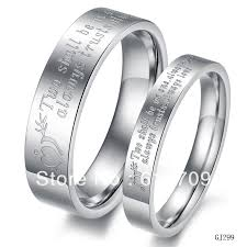promise ring sets online shop free shipping stainless steel couples promise rings