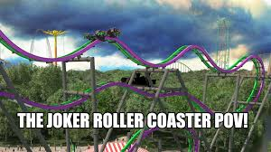 Six Flags Great Adventure Reviews Joker Roller Coaster Pov First Test Run Six Flags Great