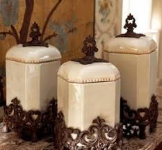 fleur de lis canisters for the kitchen decorative kitchen canisters sets decor