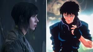 ghost in the shell u0027 movie anime vs scarlett johansson remake