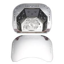 48w ccfl led uv lamp light salon nail dryer pink for gel polish