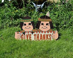 thanksgiving turkey outdoor decorations turkey yard stakes