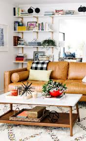 leather accent chairs for living room vintage leather chair and
