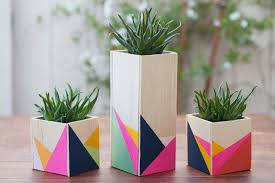 20 diy geometric projects for your home tipsaholic