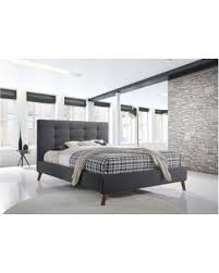 Fabric Platform Bed Shopping Deals On Baxton Studio Valencia Mid Century Modern