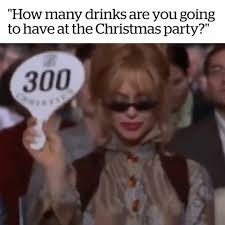 Christmas Party Meme - vt no such thing as too many