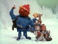 rudolph the nosed reindeer characters rudolph and the other eight reindeer take santa to the island of