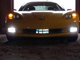 corvette modifications c6 c6 corvette 2005 2013 hid fog light conversion kit corvette mods