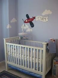 baby boy airplane nursery boy vintage airplane baby nursery