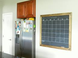 diy chalkboard calendar moving to the country