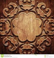 carved wooden pattern stock image image of fiber backdrop 35266899