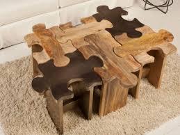 Table Jigsaw Jigsaw Coffee Table Coffee Tables Thippo