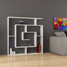 amazon com labirent 6 shelf bookcase white h 50 8