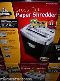 cross cutting shredder